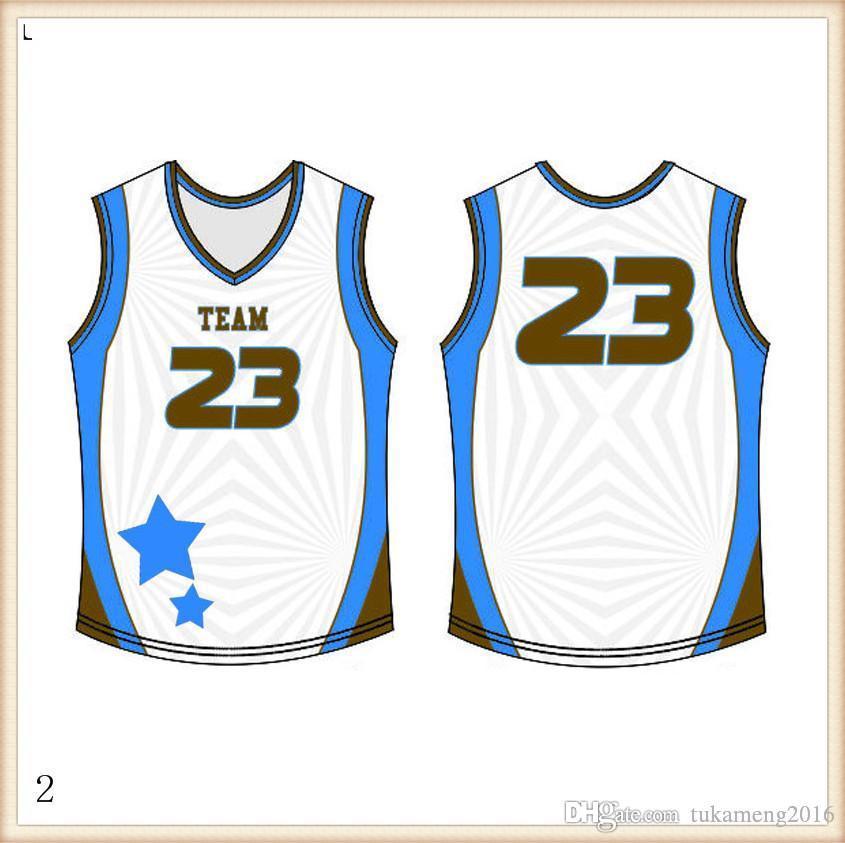 2019 2020 Basketball Jerseys Quick Dry vermelho azul bordado Logos frete grátis por atacado baratos Men Tamanho Jersey12709