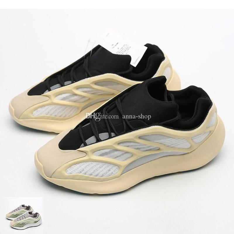 Mens Schiuma Runner 700 V3 Sneakers per gli uomini Kanye West 700v3 formatori Man Kanyewest Scheletro Scarpe da corsa Scarpe da corsa Uomo Riflettente Sport Shoe Light