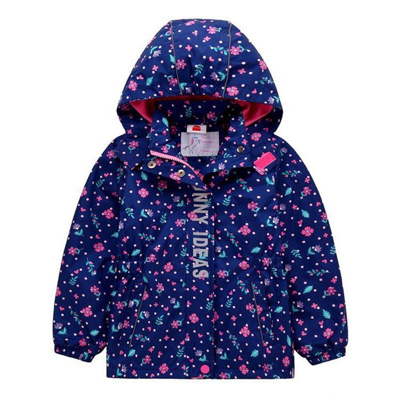 بنات القطبية سترة الصوف الخريف الربيع ماء اطفال الرياضة مقنع معطف للفتاة 3-12 سنوات سترة واقية Dwq536