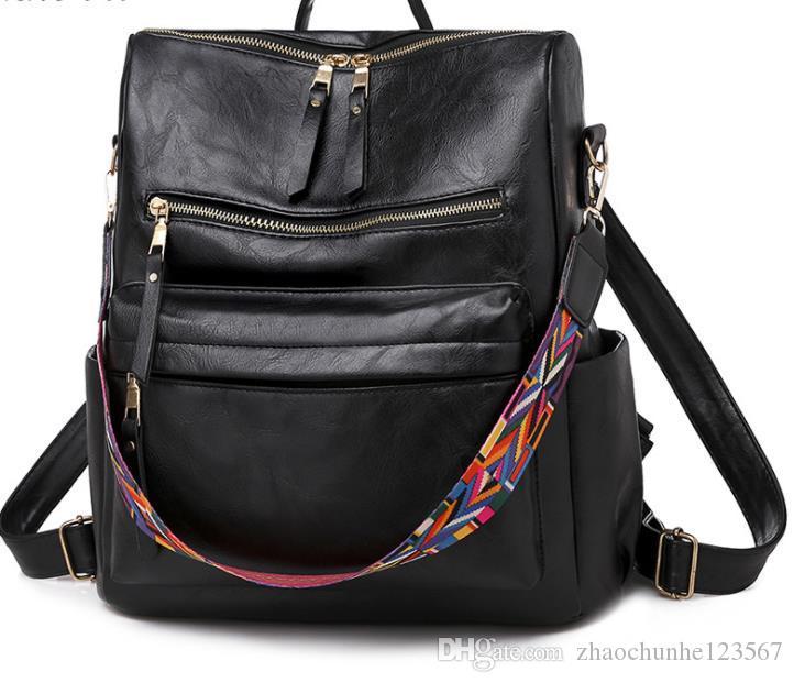 Женская 2020 горячей продажи нового крокодиловой кожи плече сумка простой темперамент женский сумка большой емкости # 001