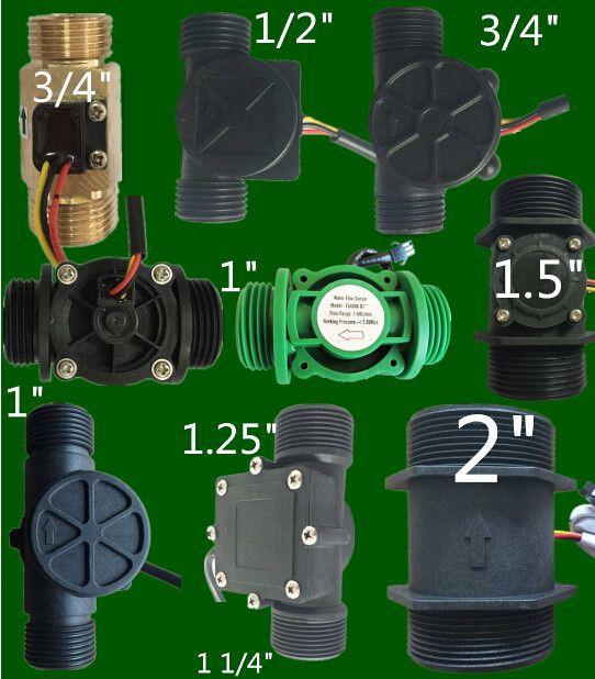 Turbine Hall flow sensor Meter for Liquid water