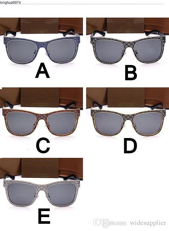 Óculos de sol Marca For Fashion New Designer Homens E Mulheres 5016 de alta qualidade óculos polarizados Óculos de sol de vidro Ciclismo Eye Glasses