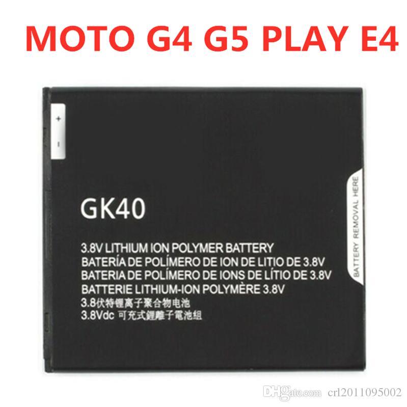 NEW OEM الأصل موتورولا MOTO GK40 G4 G5 PLAY E4 E3 بطارية XT1607 XT1609 XT1670 استبدال سعر المصنع بالجملة
