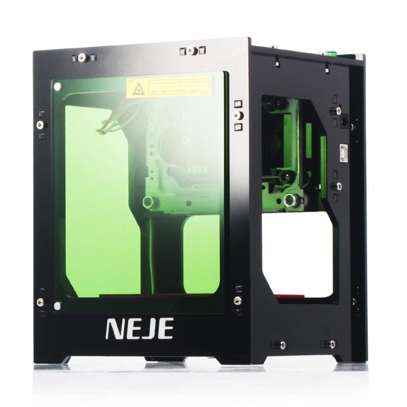 Neje DK-8-KZ 3000mW Laser Engraver 445nm intelligent AI Mini gravure Supports fonctionnement de la machine hors ligne de bricolage Imprimer Sculpture machine