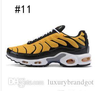 2019-20 ТН ртутный плюс мужские кроссовки вольт черный белый зеленый золото синий мода мужские кроссовки дышащий Спорт кроссовки