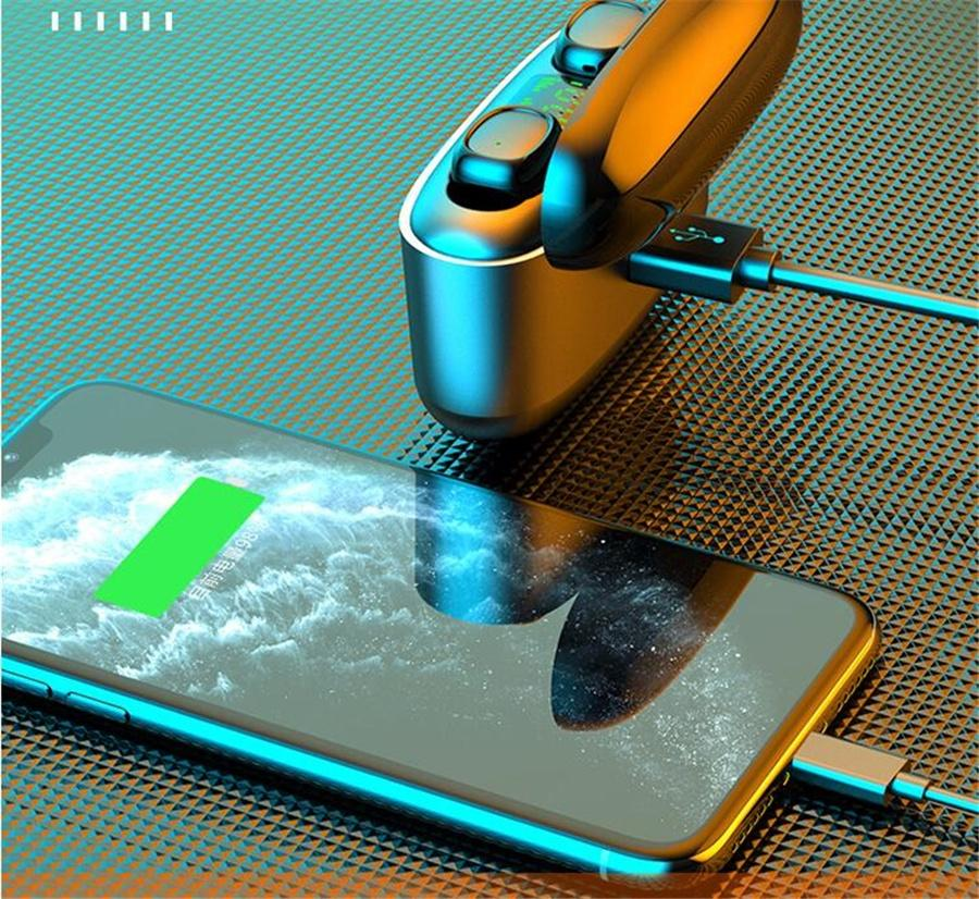 Touch Control I12 Tws fone de ouvido Bluetooth 5.0 sem fio Fones de ouvido Auto Suporte emparelhamento Headphones Pop Up Wireless Headset Earbuds # OU501