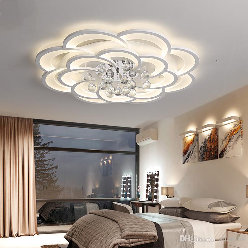 Soffitto moderna Luci LED Lamp Per Soggiorno Camera da letto Camera Studio Home Decor superficie Avize montata plafonnier Lampadari