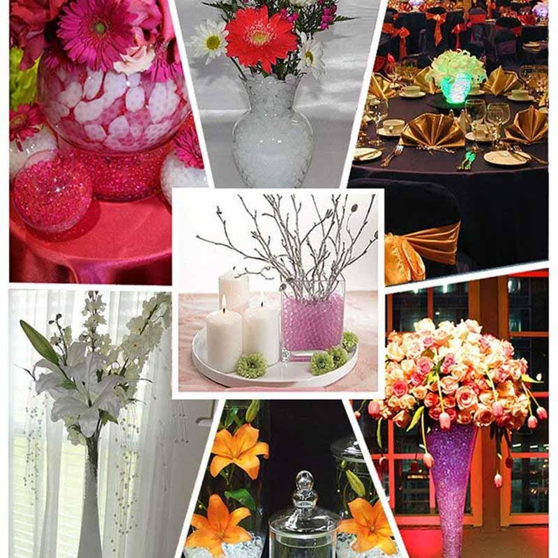 100PCS 마법 꽃병 필러 테이블 중앙 장식품 살포 결혼식 참여 신부 아기 샤워 첫번째 생일 기념일 장식