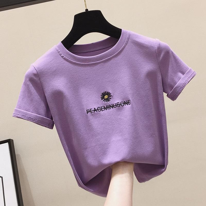 9747 Daisy versatile short-sleeved T-shirt 9747 Daisy versatile short-sleeved T-shirt