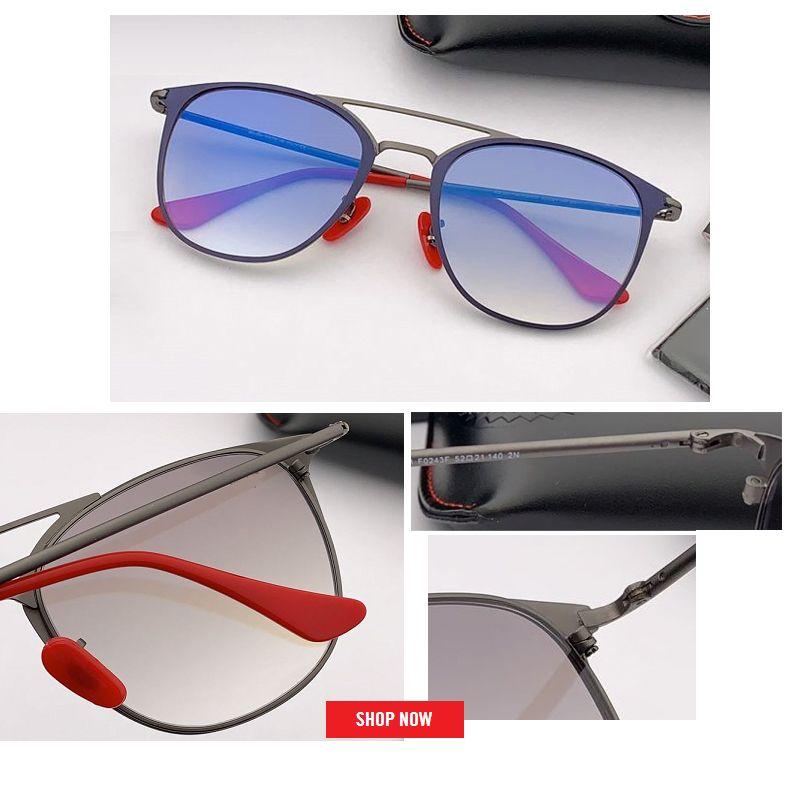 الجملة خالية الشحن أعلى جودة للأشعة فوق البنفسجية نظارات المرأة العلامة التجارية مصمم 2019 أزياء ساخنة جديدة نظارات الشمس gafas دي سول مع الحزمة