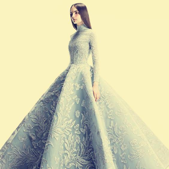 b4efe27dfb9d7 ... Özelleştirilebilir Abiye Uzun elbise Uzun kollu Aplike Tül Yüksek yaka  balo elbisesi Klasik Her boyutta Özelleştirilebilir