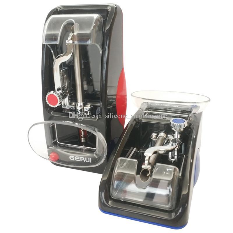 Fábrica atacado automático Injector de Cigarro Máquina de Rolar Triturador de Tabaco Rolo Eletrônico Moedor Triturador de Erva Seca Acessórios Fumar