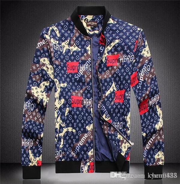 Новая высококачественная европейская куртка для осени и зимы, роскошная модная линия для мужской одежды, размер M~3XL#1034