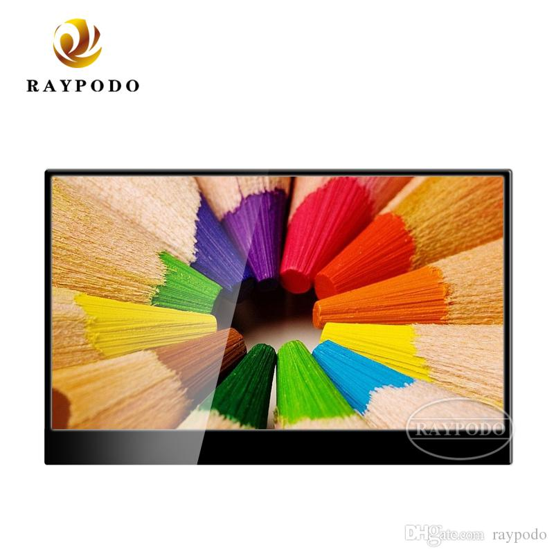 Raypodo Ultra thin 15.6 inch IPS screen 4K portable LED computer monitor with Type-C port