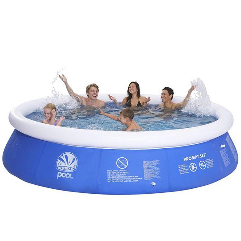 Лето Большого бассейн клип Net Толстых Супер Pad бассейны Главных Надувные ванна Детская ванна Открытый для детей Игрушки Подарков