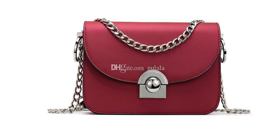 2019 Moda Donna Catena tracolla marchio di lusso Jelly abrasiva pelle borsa famosa Designer borse messenger spalla Tote Bag crossbody