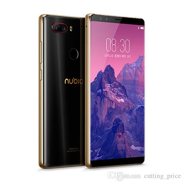 "Original ZTE Nubia Z17S 4G LTE Mobile Phone Snapdragon 835 6GB RAM 64GB ROM Andorid 5,73"" Phone 23.0MP Fingerprint ID inteligente celular de tela cheia"