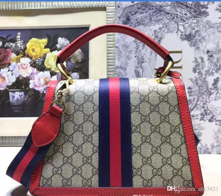 3 couleurs mode de luxe de haute qualité Livraison gratuite Lady en cuir véritable sac à main haut de gamme Sac à bandoulière Sac à bandoulière