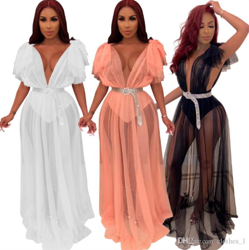 Womens manches courtes robe d'été designer sol-longueur une pièce robe haute qualité jupe lâche élégant luxe sexy clubwear chaud klw1798