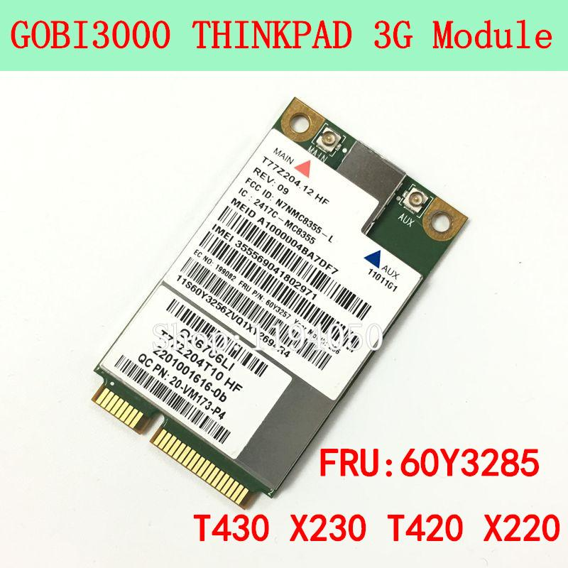 Бесплатная доставка Sierra MC8355 GOBI3000 GPS 3G HSPA EVDO WWAN Беспроводная карта для Lenovo Thinkpad X220 T420 T520 X230 T430 T530 W520 W530 60Y3257