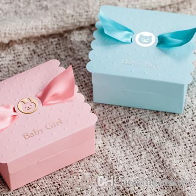100pcs conocido de encargo 90x90x45mm caja de embalaje caja de regalo del bebé lindo dulces de chocolate de Navidad regalo de cumpleaños XD22516