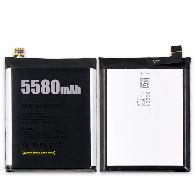 100% New Original for DOOGEE S60 BAT17M15580&BAT17S605580 Replacement 5580mAh Parts backup battery for DOOGEE S60 Smart Phone
