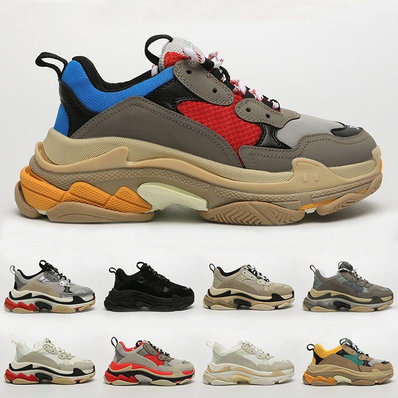 Brand Mens Triple S Chunky Sneakers