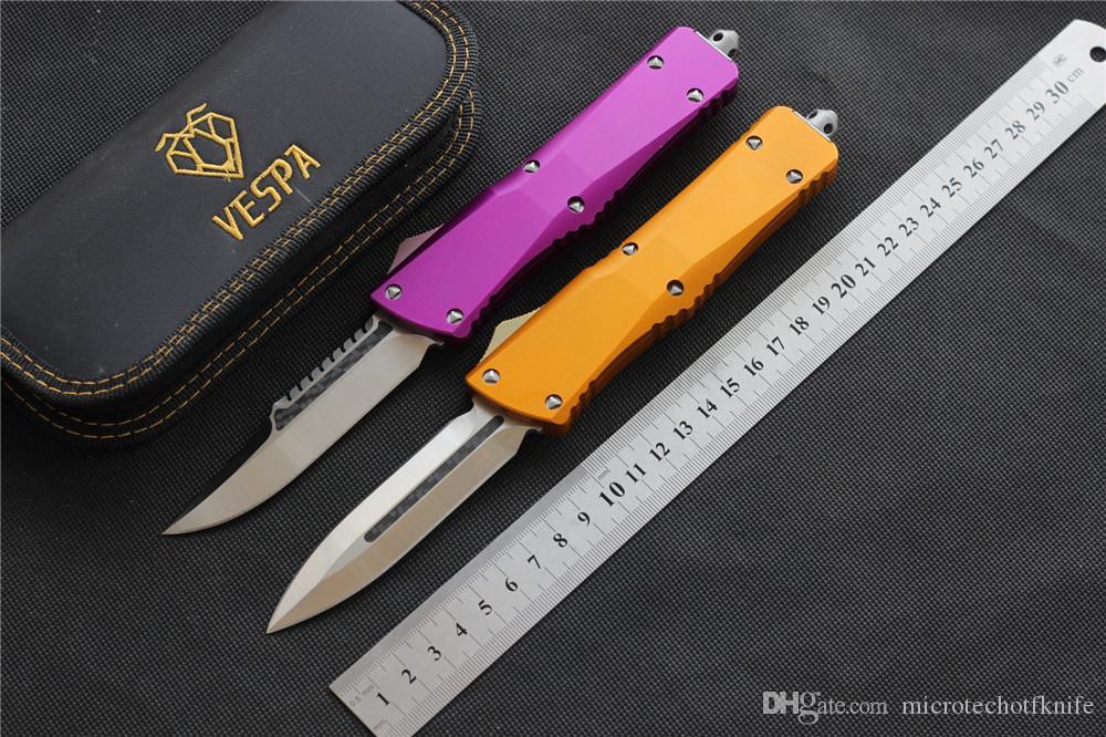 Ücretsiz nakliye VESPA Bıçak Bıçak: S35VN (D / deneyden / E) Sap: Alüminyum, EDC avı Taktik aracı akşam mutfak bıçağı açık kamp sağkalım