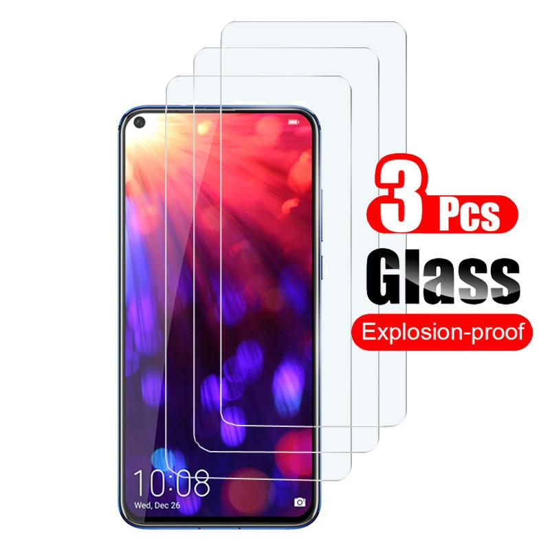 3PCS vidro temperado em honra 10 luz de vidro protetor de tela Huawei vista honra 20 pro 9 Lite 10lite 9lite 10i 20i filme segura