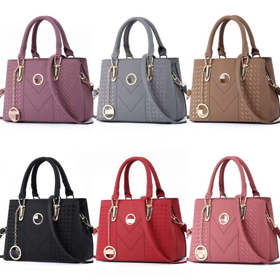 46 Stiller Moda Çanta 2020 Bayanlar Tasarımcı çanta Tasarımcı Çanta Kadınlar Bez Çantalar Tek Omuz Çantası 9426 # 393