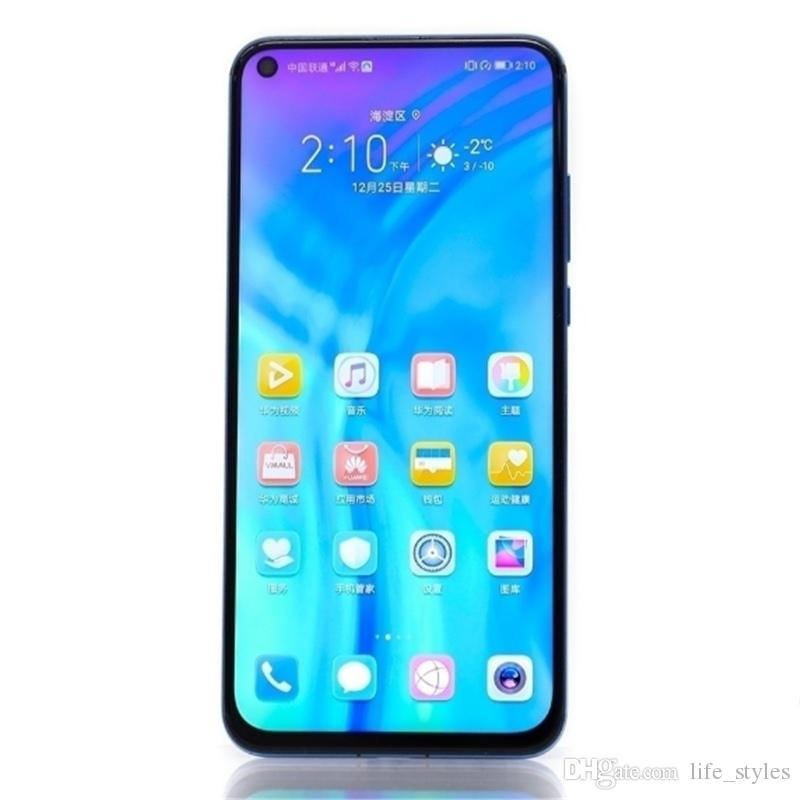 Original HUAWEI Honor View 20 Smartphone Honor V20 Android 9 6GB RAM 128GB ROM Support NFC fast charge Mobile Phone DHL Free Shipping