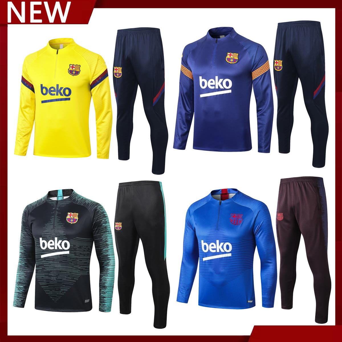 2020 2019 2020 2021 Barcelona Messi Griezmann Football Windbreaker Jacket Sportswear Barcelona Training Suit Half Zip Football Suit From Hot Sale 001 36 27 Dhgate Com