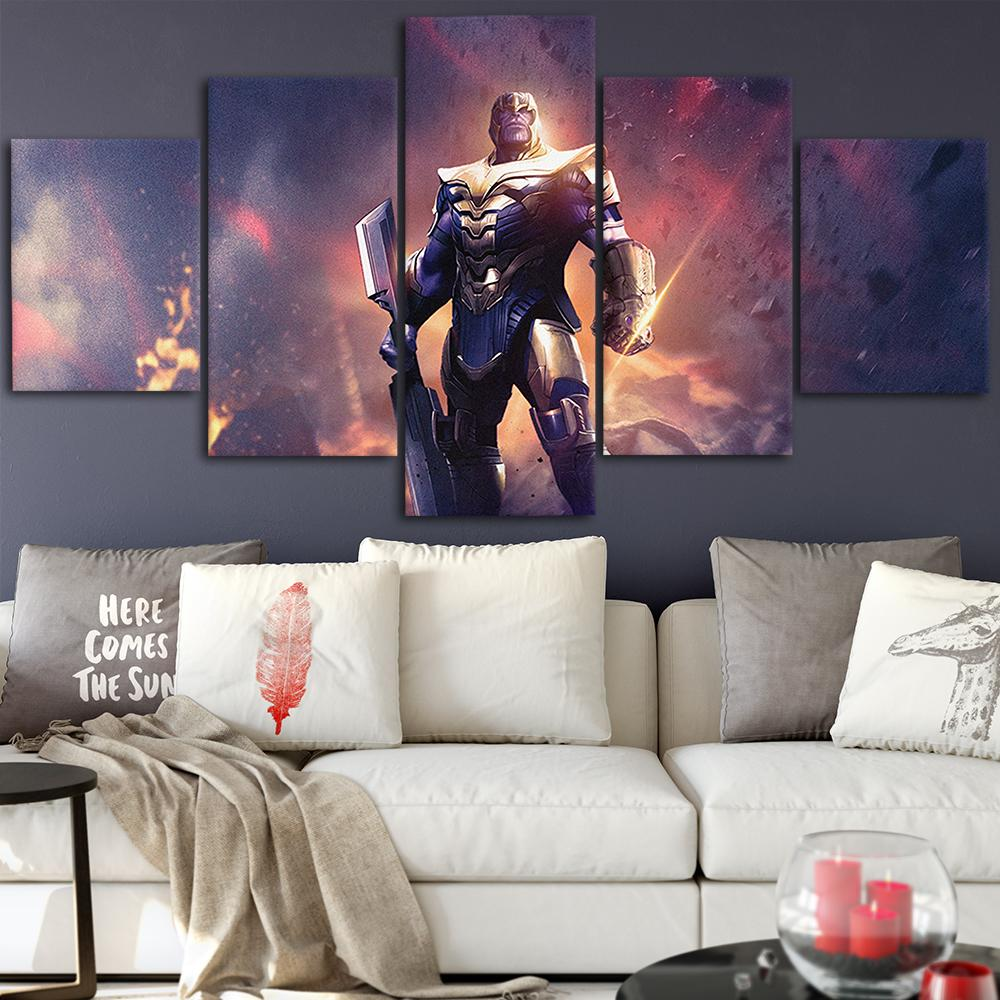 2021 Thanos Canvas Posters Home Decor Wall Art Framework Paintings For Living Room Hd Prints Modern Movie Pictures From Niartwork 21 69 Dhgate Com