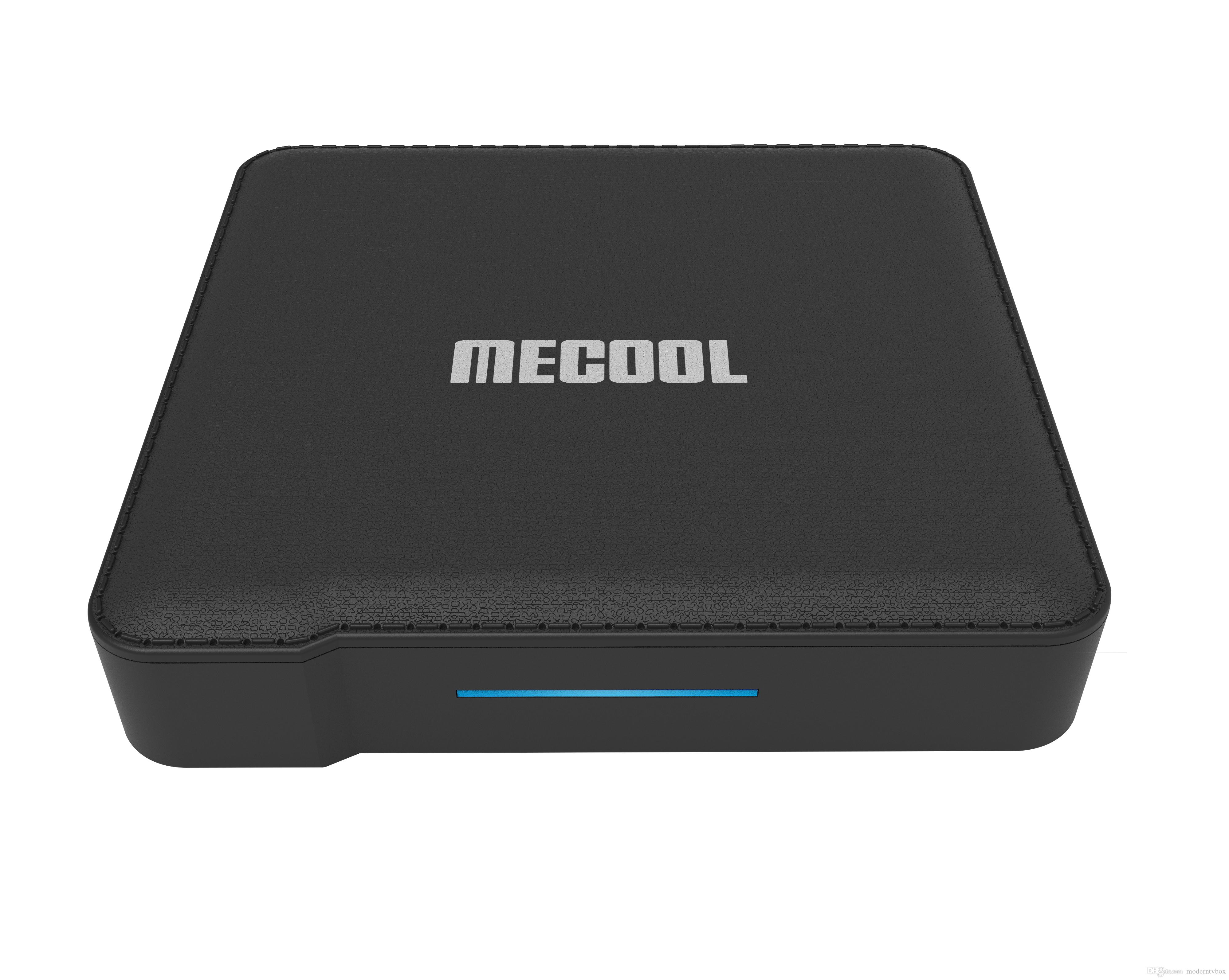 MECOOL KM1 AmLogic S905X3 Android 9.0 TV Box 4G DDR 32G ROM 2.4G/5G WiFi 4K BT4.2 Voice Control Google Certified Set Top Box