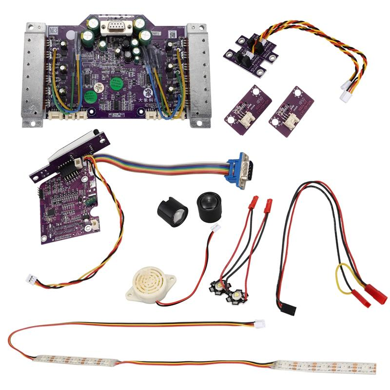 Control Board Mini elétrico incorporado Balance Scooter Motherboard Mainboard 54V Integrated Circuits para Ninebot 9