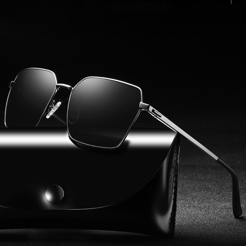 MENGTYCEI 2019 yeni moda erkek polarize güneş gözlüğü en popüler boy sürme motosiklet açık güneşlenme WD201966 gözlük