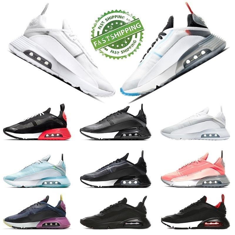 Air 2020 Nuovo caldo essere vero 2090 Running Shoes Mens Trainers Womens Magma Arancione Pure Platinum Rosa Schiuma triple Bianco e nero Sneakers Sport