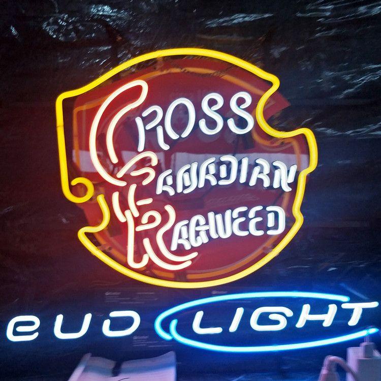 Ross BUD IŞIK Özelleştirilmiş Led Neon Sign Lambası Işık Açık Ekran Eğlence Dekorasyon Neon lambası Işık Metal Çerçeve 17 '' 20 '' 24 '' 30 ''