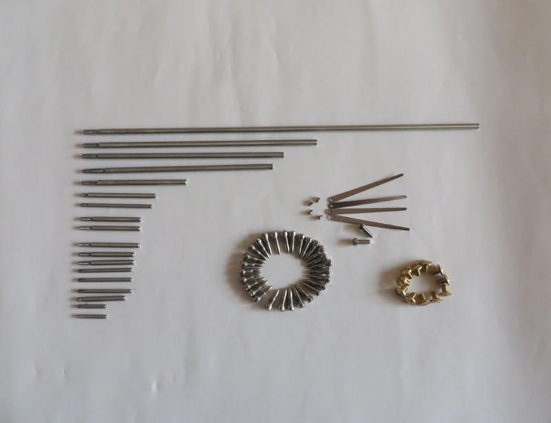 مع المعرض ألتو ساكسفون عصا رمح كاملة + قطعة صفراء + مجموعة المسمار إصلاح أجزاء الآلات الموسيقية ساكسفون الملحقات