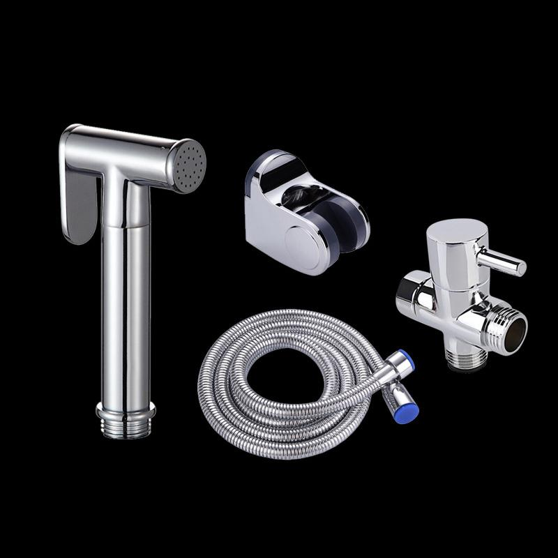 2020 Portable Toilet Bidet Faucet Handheld Toilet Bidet Sprayer Kit Set Copper Bathroom Bidet Spray Shower Head Hose T Adapter Holder From Suozhi1995 17 96 Dhgate Com