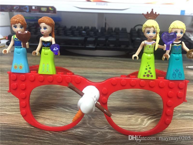 Gözlük Çerçeve Taban Plakası Yapı Taşları Minecraft Teknik Taban Plakası Gözlük Çerçeve Tuğla Oyuncaklar Çocuklar Için