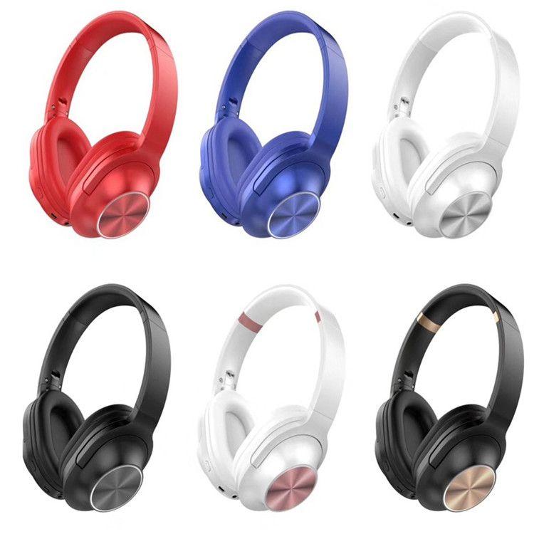 760BT Bluetooth Headsets fone de ouvido para jogos de PC xbox one PS4 computador tablet telefones celulares inteligentes sem fio headband microfone controle remoto