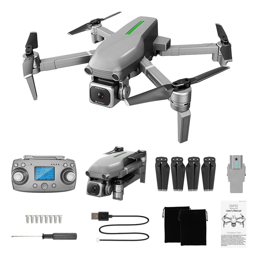 L109 4K HD Electric Adjustment Camera 5G WIFI FPV Drone, GPS& Optical Flow Position, 1000 M RC Distance, Brushless Motor, Smart Follow, 3-1