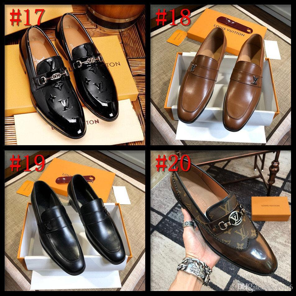 19SS Size 38~45 Designers Formal Shoes