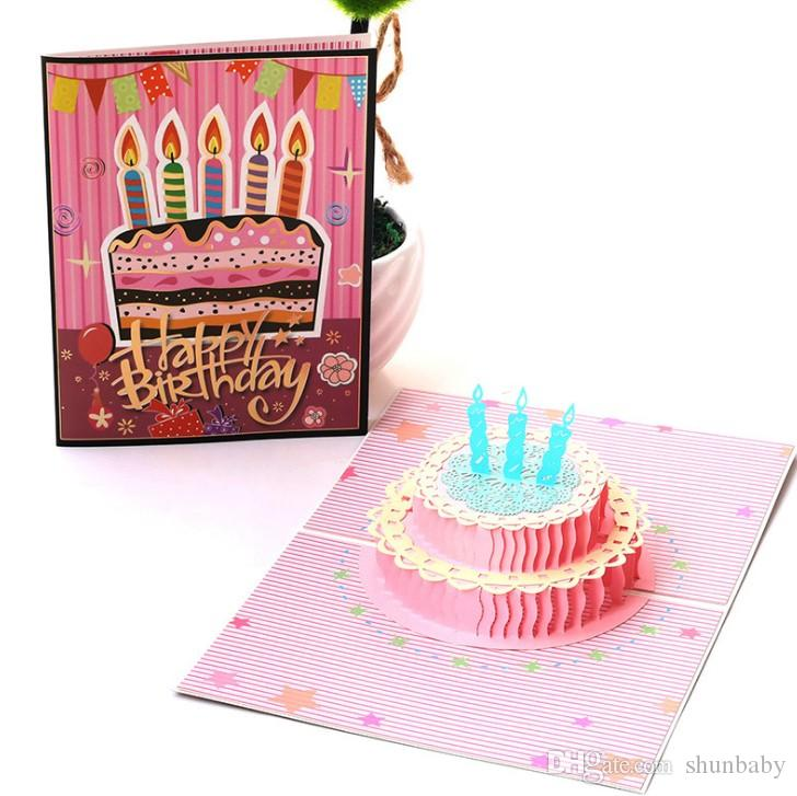 Fabulous 3D Pop Up Cards Birthday Card For Girl Kids Wife Husband Birthday Funny Birthday Cards Online Inifofree Goldxyz