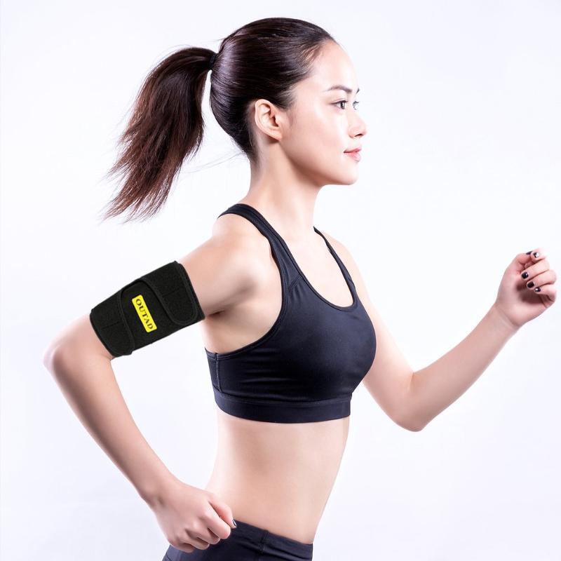 OUTAD гибкого кронштейн триммеры для мужчин Женщин без латекса неопрена Улучшенной Теплоизоляции сенсорного Черного 2PCS