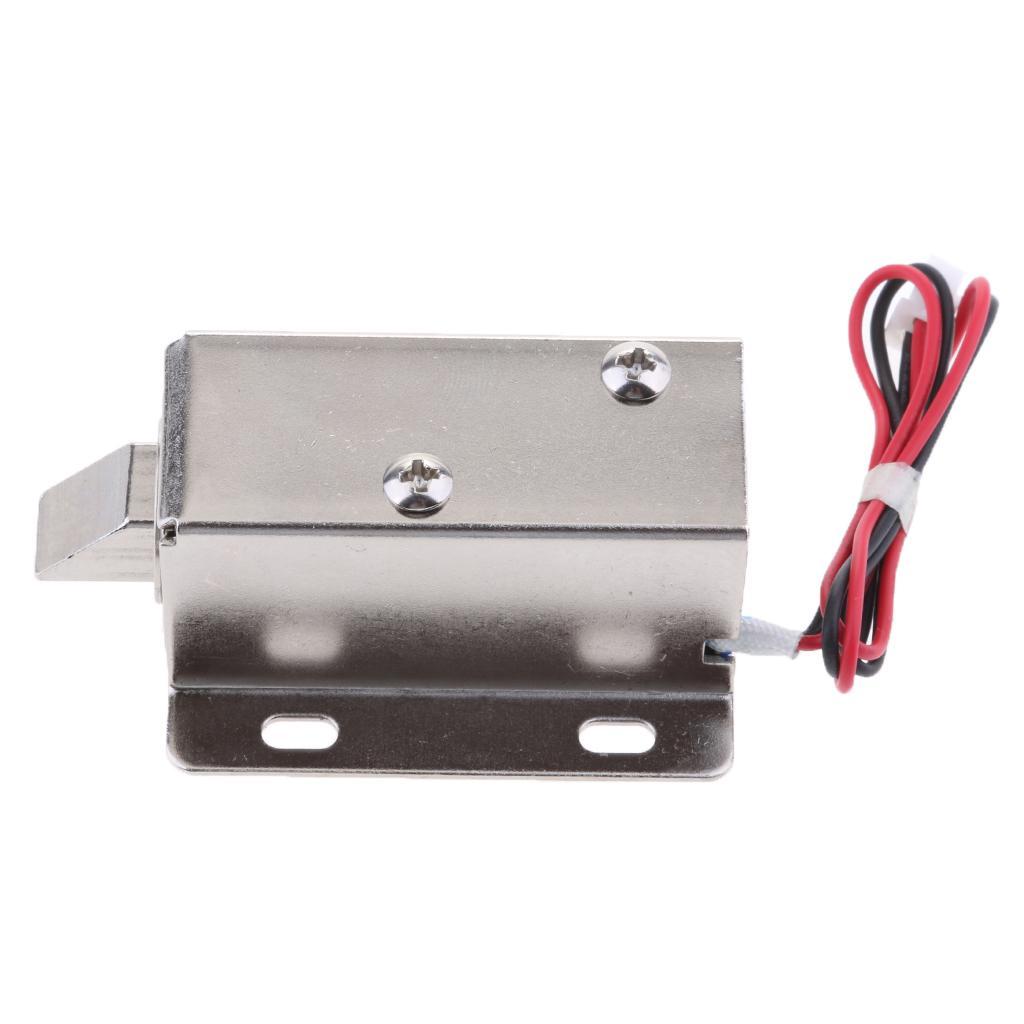 Prime de verrouillage électrique 24V 2.3A Porte de contrôle d'accès Cabinet Porte Locker