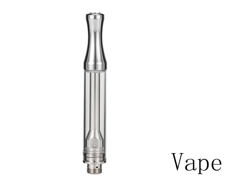 керамические катушки стеклянного резервуара предварительного нагрева Vape ручка электронной сигареты испаритель экстракт масло vaping бак 1мл керамическое стекло сердцевины испарителя не утечек