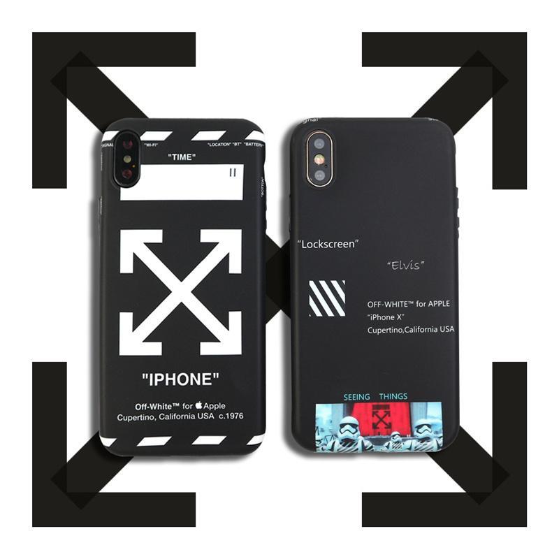 funda iphone 8 plus off white