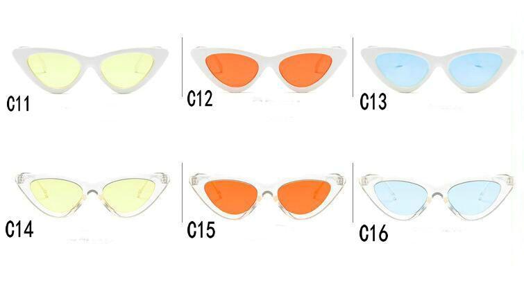 New Fashion Retro Sun Outdoor Eye Triangular Free Glasses Sport Sunglass Cat's Cycling Sunglasses For 5pcs/lot Lady Shipping. Qttff